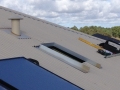 External vent on a colorbond roof where a CoolBreeze Heritage will be installed by Hearth House, Perth
