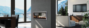 Escea DX1000 Gas Fireplace at Hearth House Perth