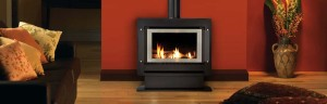 Rinnai Sapphire Plinth Gas Log Fires at Hearth House Perth