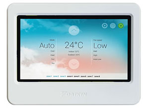 Daikin Sky Zone controller for ducted system