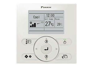 Daikin Nav Ease controller for ducted system