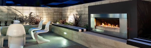 Escea EF5000 Outdoor Gas Fire Place