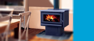 masport R5000 freestanding wood fire heater available at Hearth House Perth