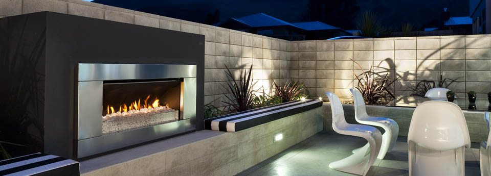 Escea outdoor gas fires ef5000 hearth house for Outdoor gas fireplace designs